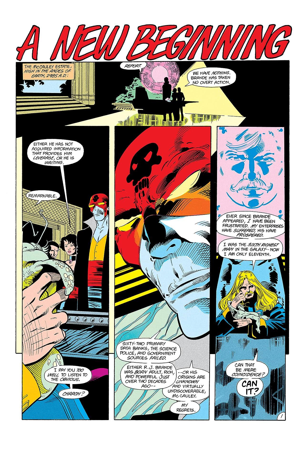 Legion of Super-Heroes (1984-1989) #17