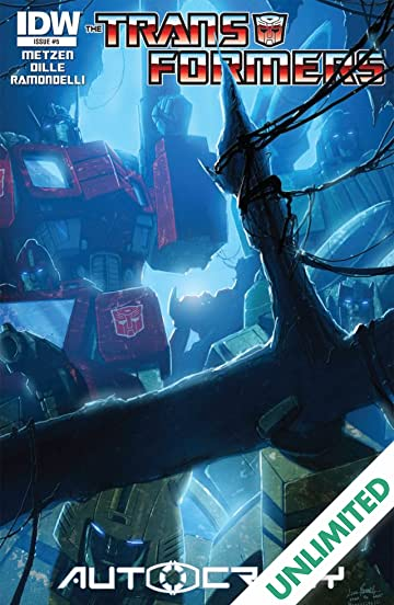 Transformers: Autocracy #5