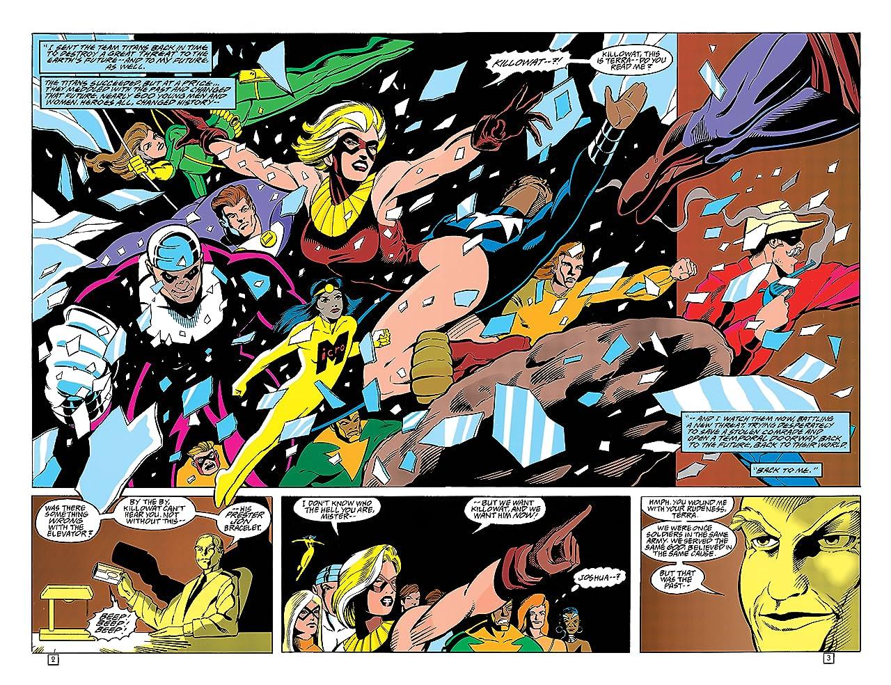 Team Titans (1992-1994) #20