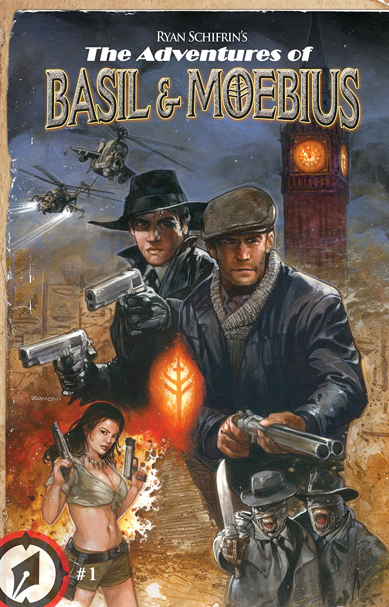 The Adventures of Basil and Moebius #1