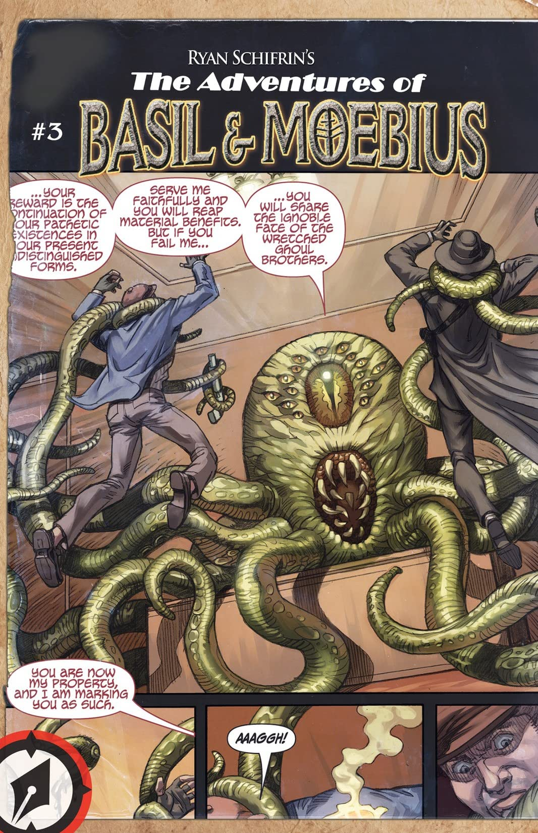 The Adventures of Basil and Moebius #3