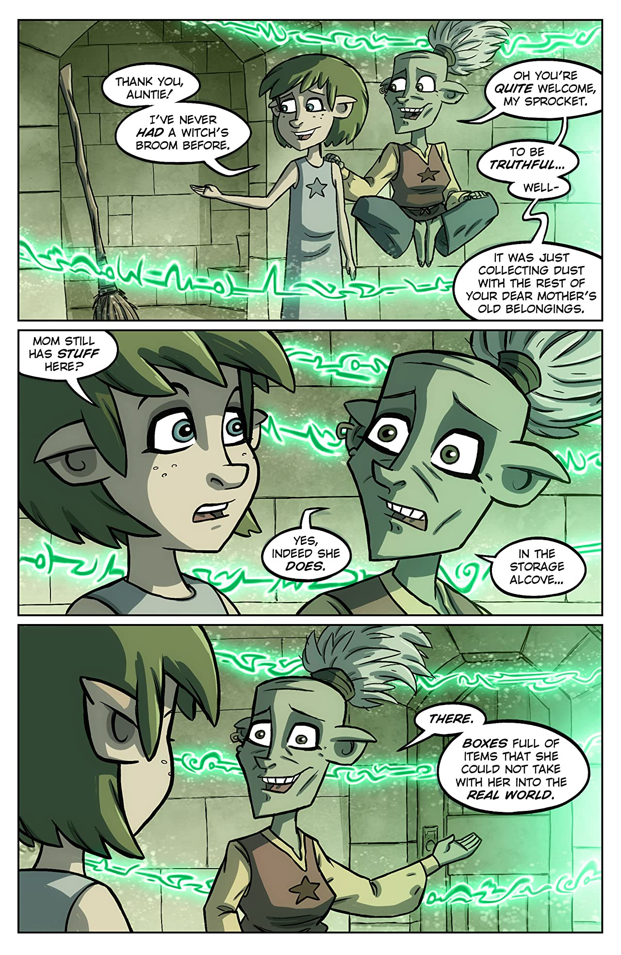 Oddly Normal #6