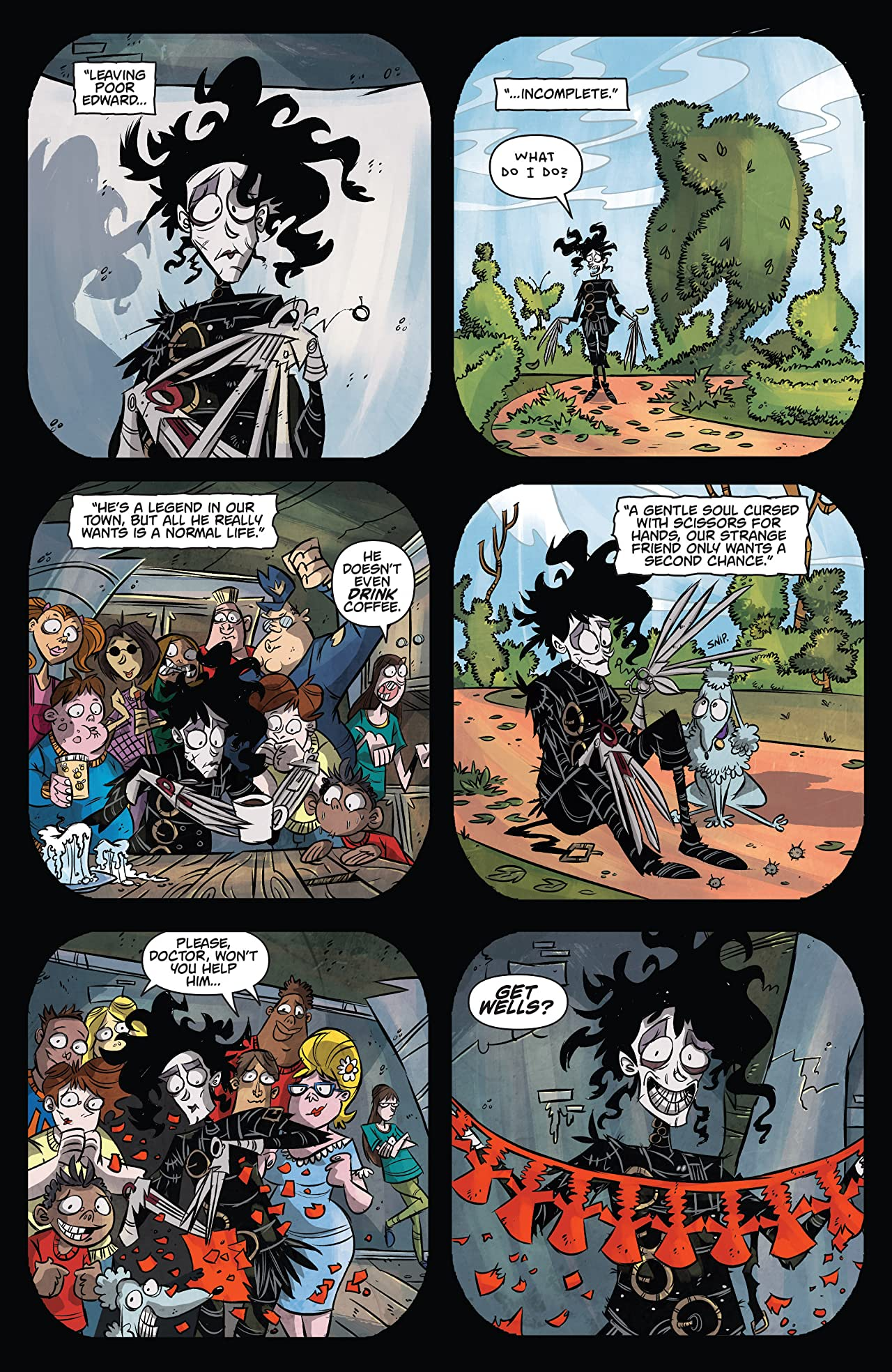 Edward Scissorhands #7: Whole Again Part 2