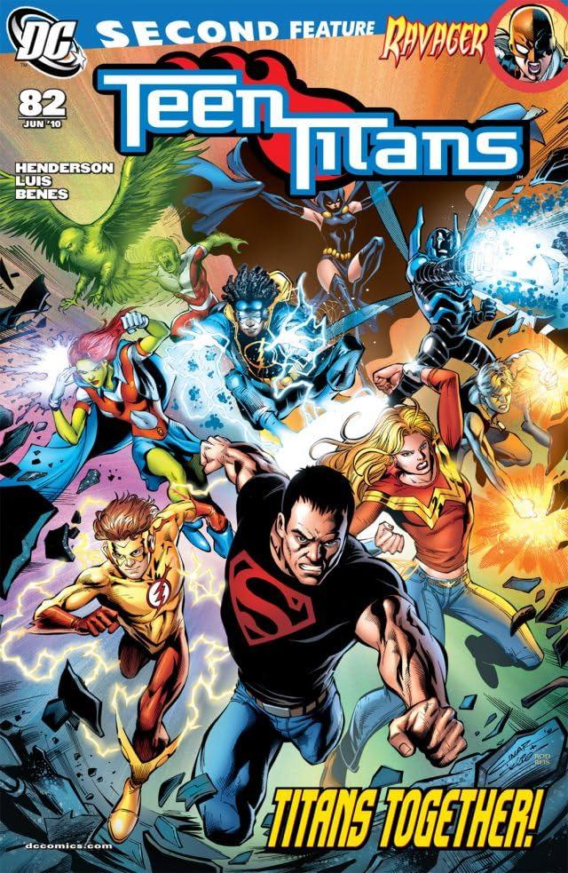 Teen Titans (2003-2011) #82