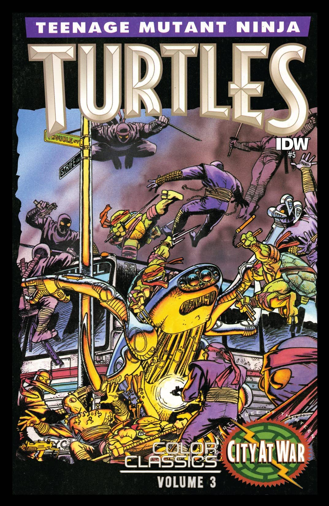 Teenage Mutant Ninja Turtles: Color Classics Vol. 3 #5