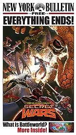 Marvel's New York Bulletin Secret Wars Newspaper