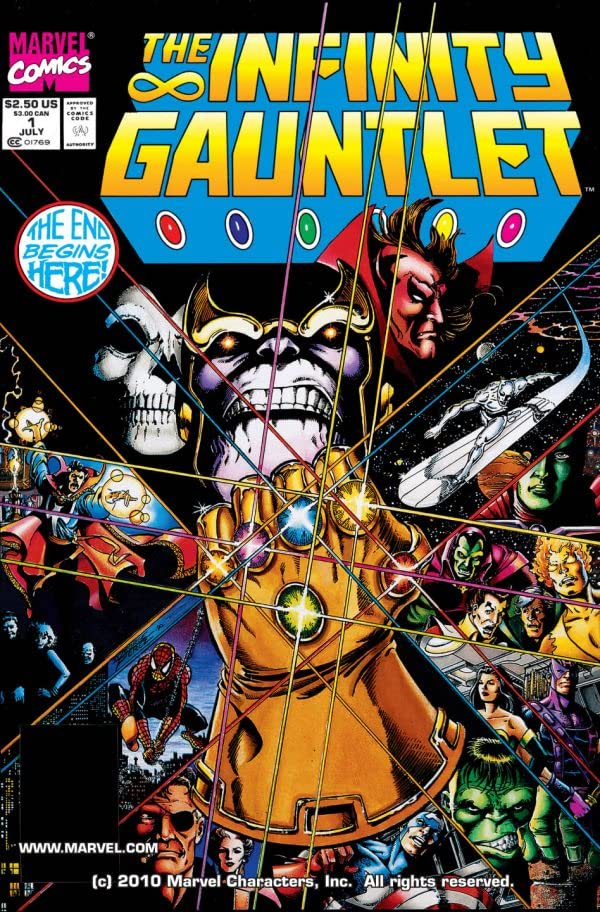 Infinity Gauntlet #1 (of 6)