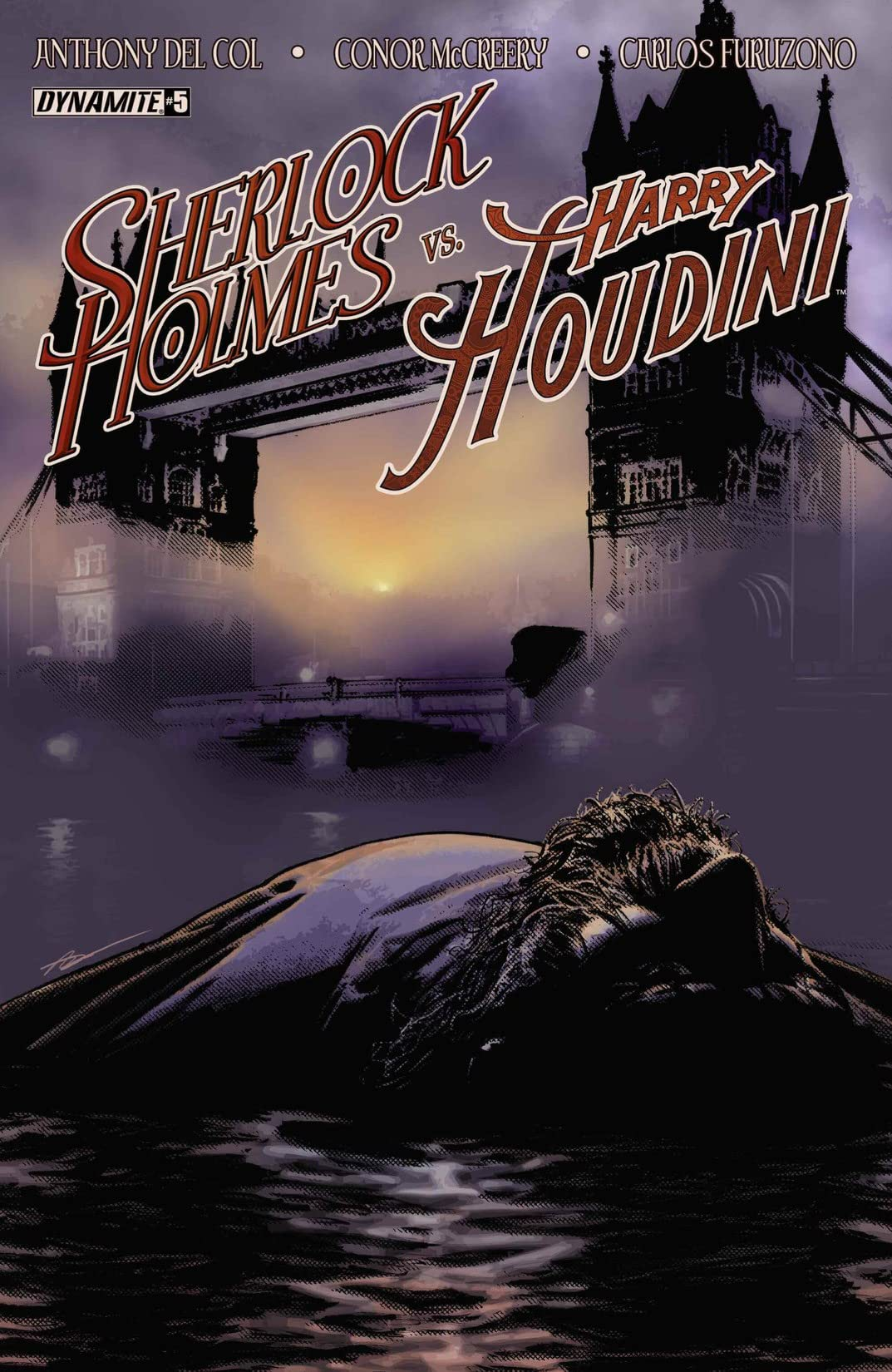 Sherlock Holmes vs. Harry Houdini #5 (of 5): Digital Exclusive Edition