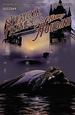 Sherlock Holmes vs. Harry Houdini #5 (of 5): Digital Exclusive Edition