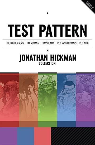 Test Pattern: Jonathan Hickman Collection: Preview