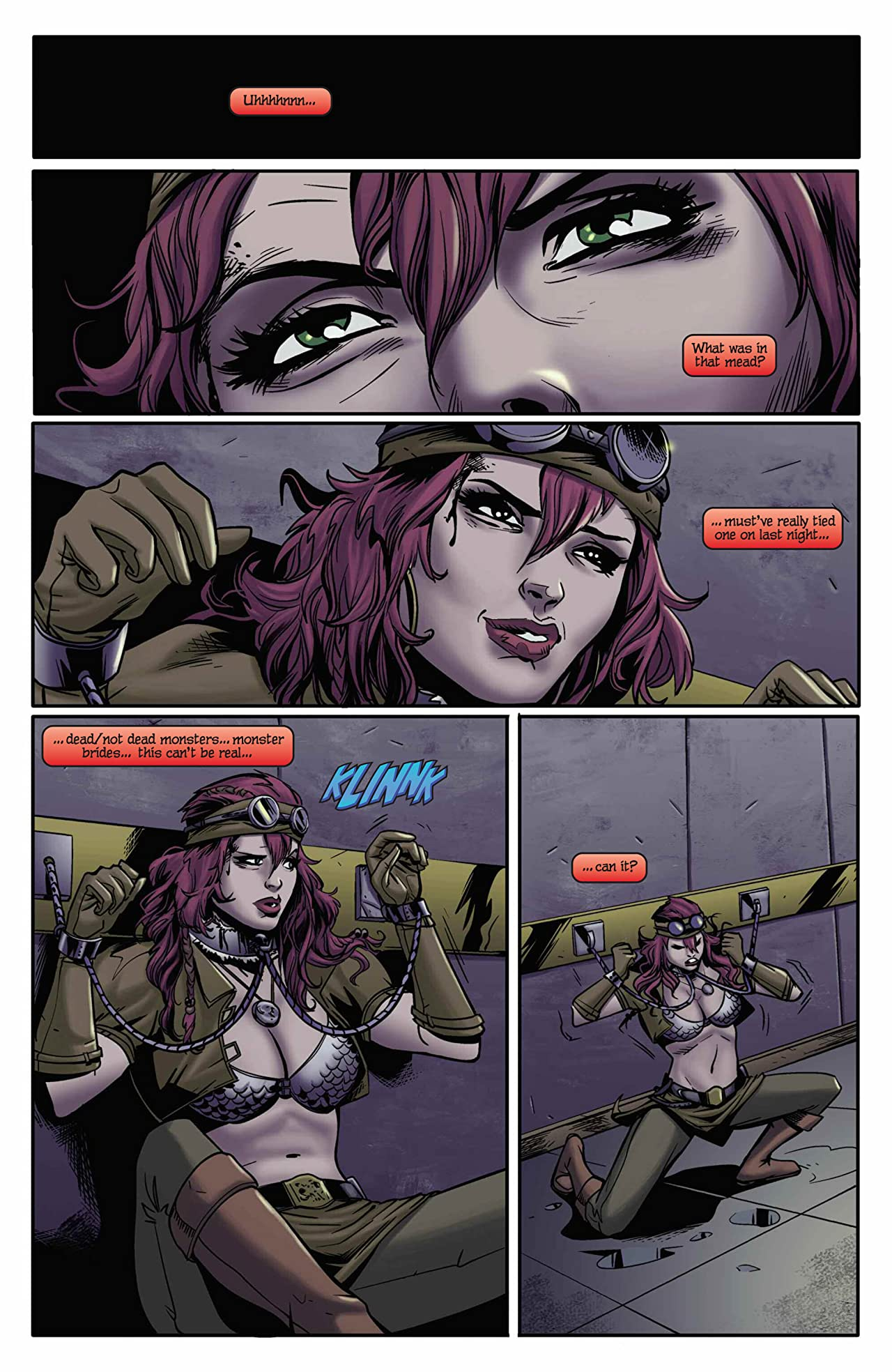 Legenderry: Red Sonja #3 (of 5): Digital Exclusive Edition