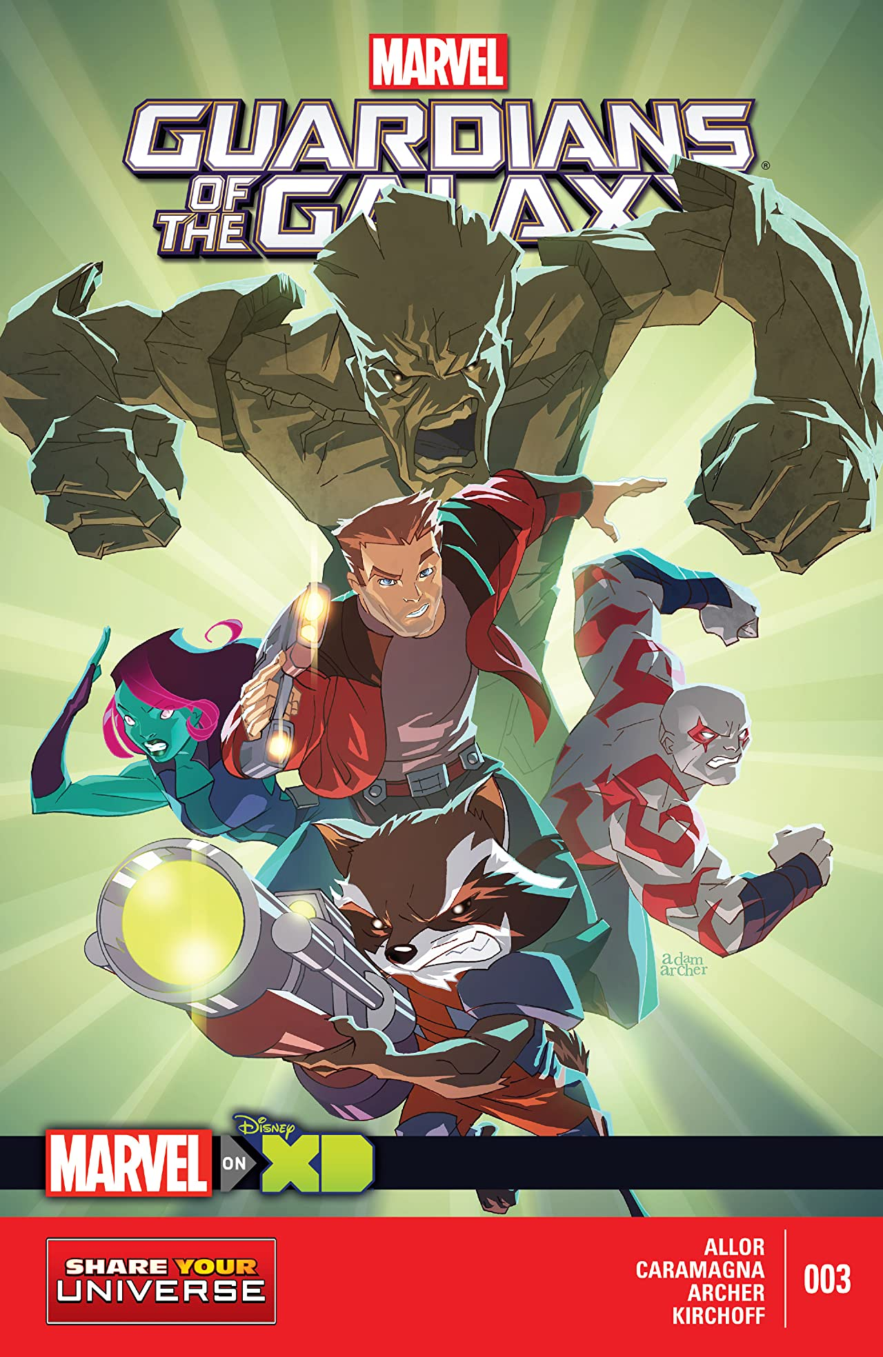 Marvel Universe Guardians of the Galaxy (2015) #3 (of 4)