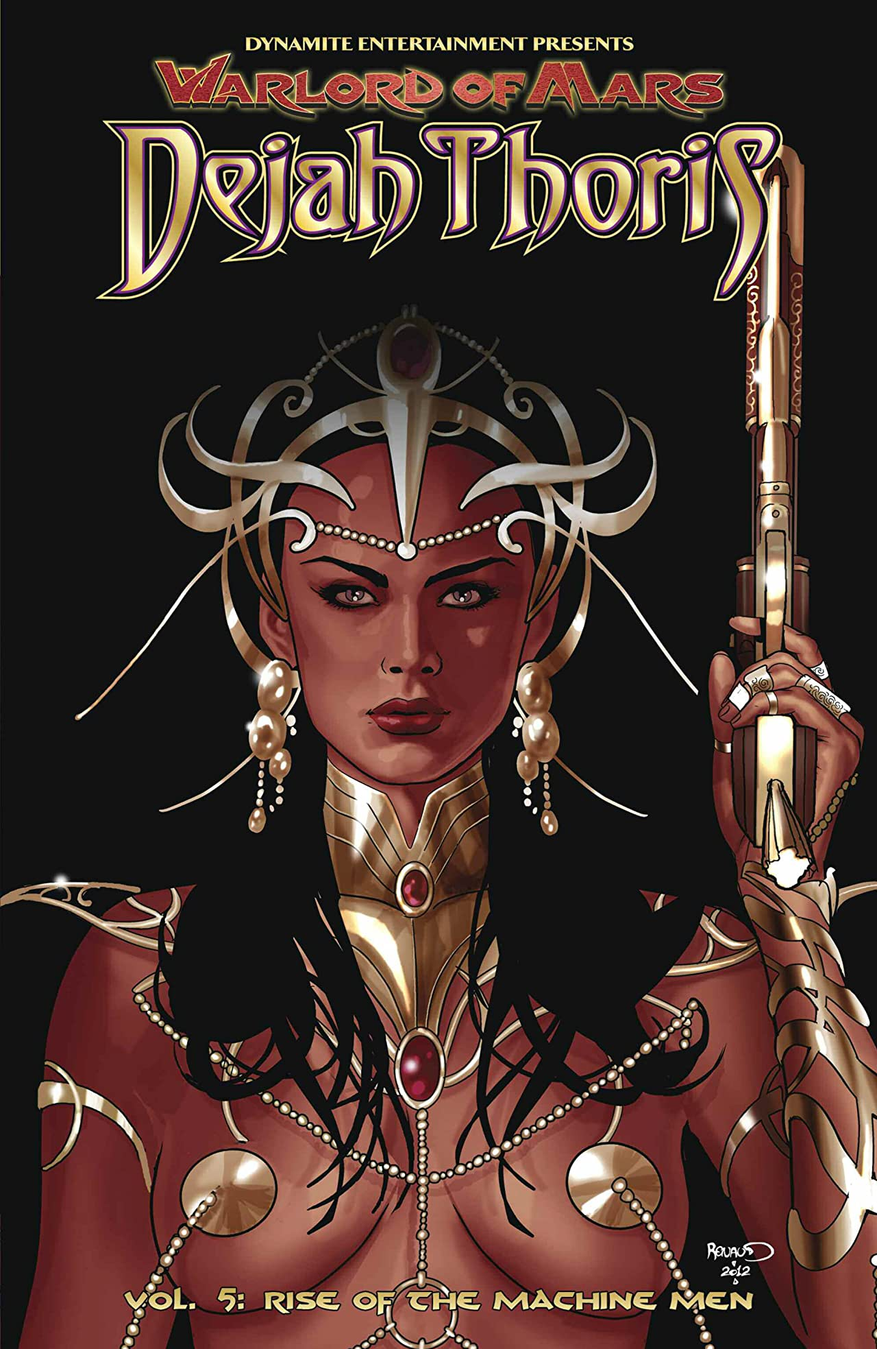 Warlord of Mars: Dejah Thoris Vol. 5: Rise of the Machine Men