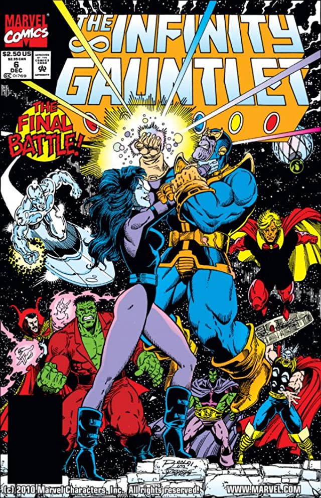 Infinity Gauntlet #6