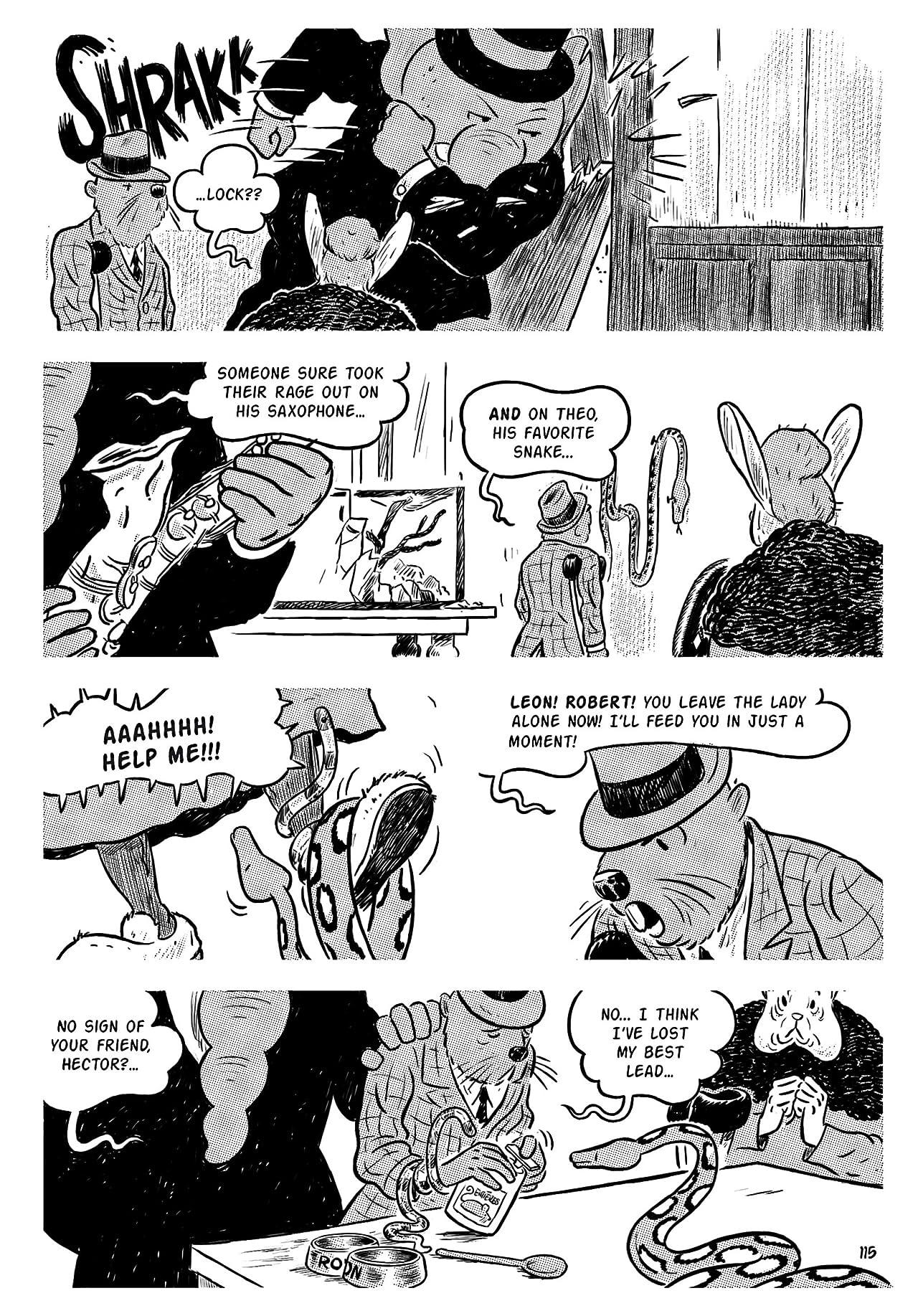District 14: Season 1 Vol. 6: Tigerman's Vanity