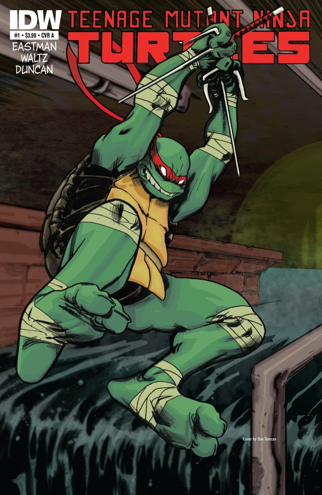 Teenage Mutant Ninja Turtles #1
