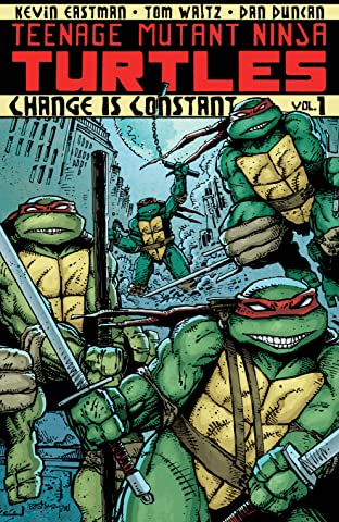 Teenage Mutant Ninja Turtles Tome 1: Change is Constant