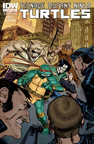 Teenage Mutant Ninja Turtles No.4