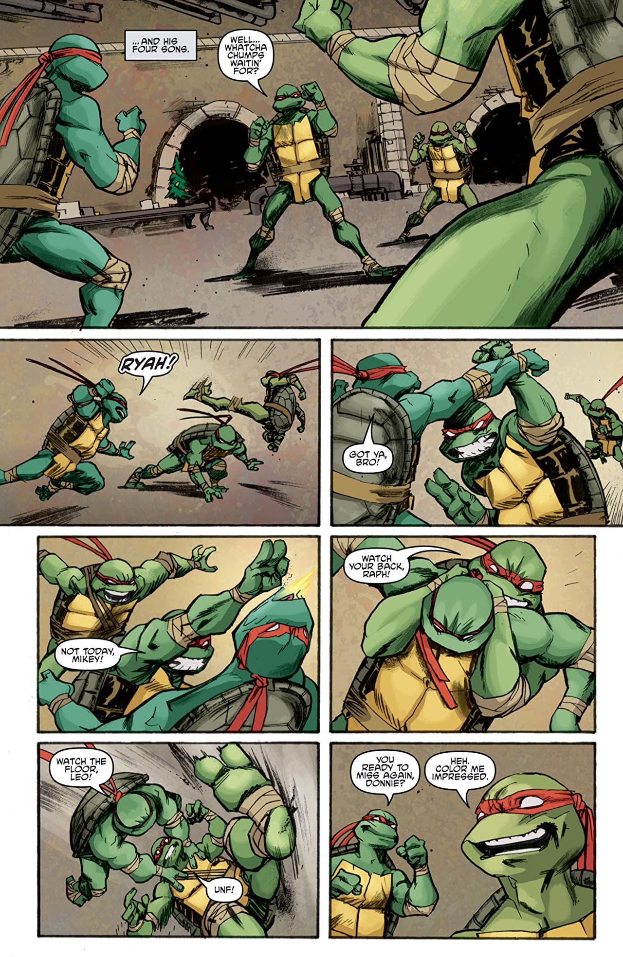 Teenage Mutant Ninja Turtles #5