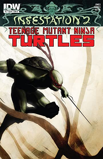 Infestation 2: Teenage Mutant Ninja Turtles #1 (of 2)