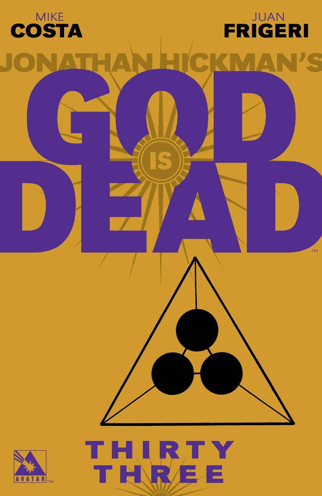 God is Dead #33