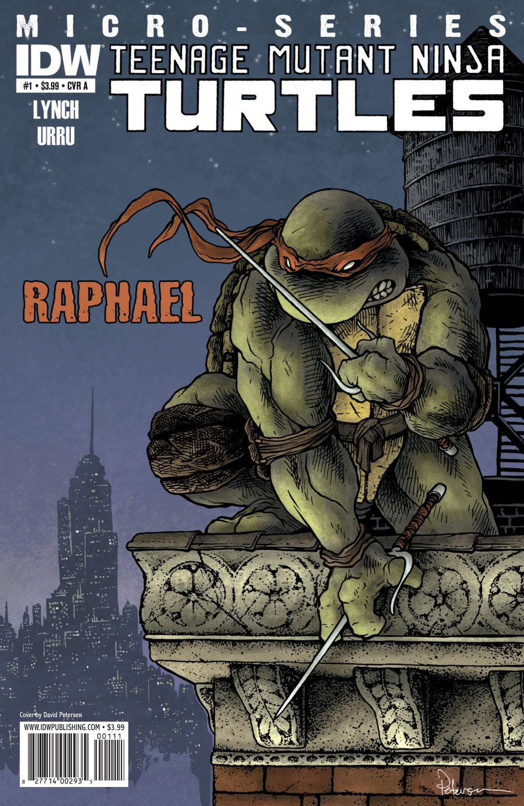 Teenage Mutant Ninja Turtles Micro Series #1: Raphael