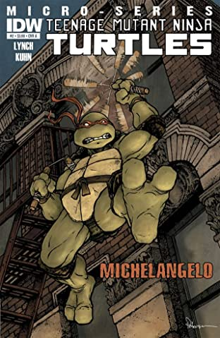 Teenage Mutant Ninja Turtles Micro Series No.2: Michelangelo