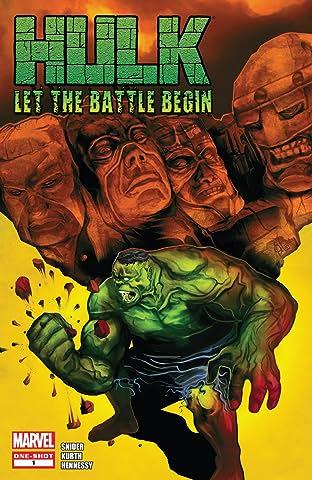 Hulk: Let The Battle Begin No.1