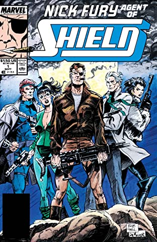 Nick Fury, Agent of S.H.I.E.L.D. (1989-1992) No.1