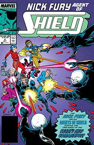 Nick Fury, Agent of S.H.I.E.L.D. (1989-1992) #2