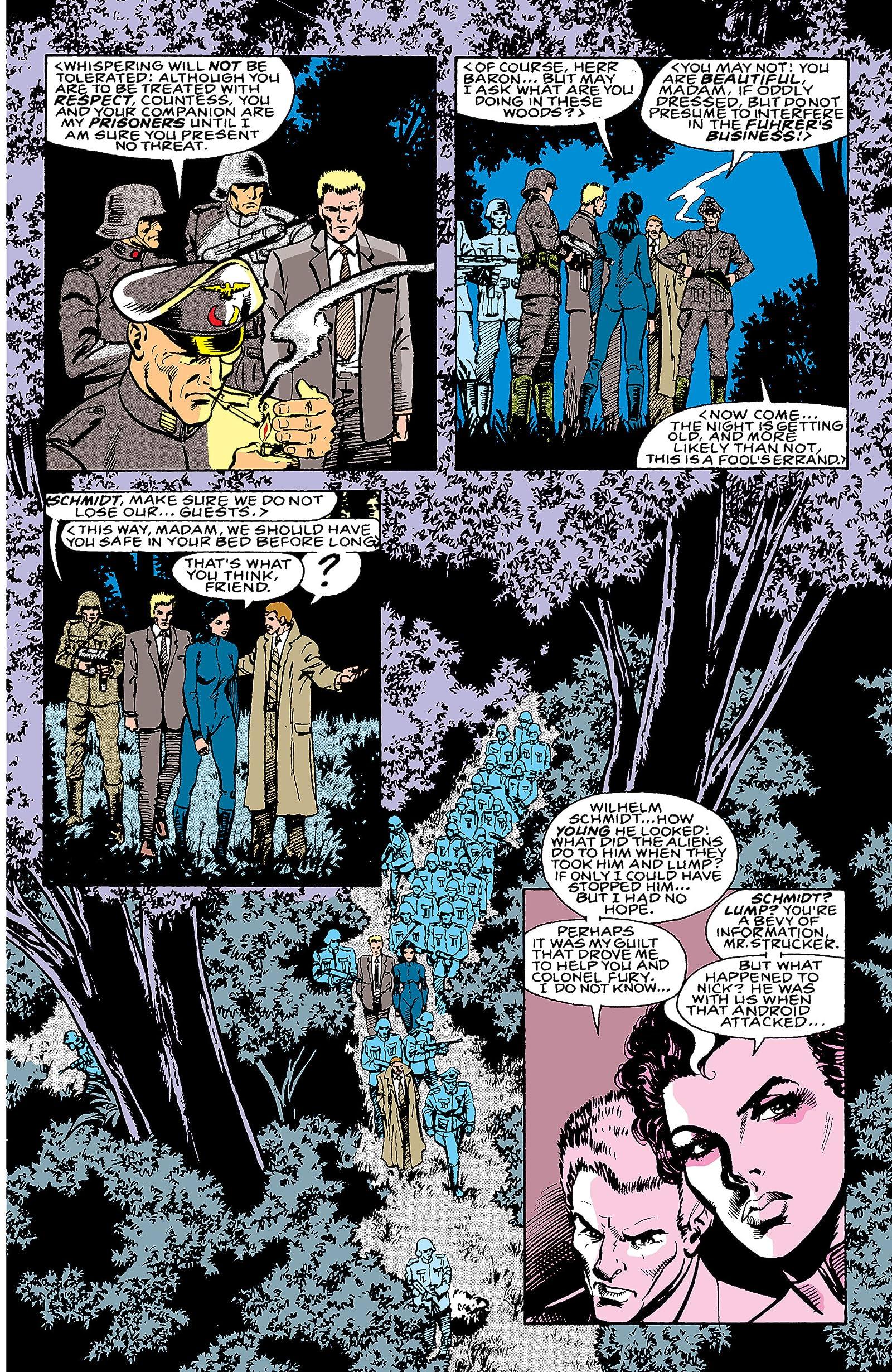 Nick Fury, Agent of S H I E L D  (1989-1992) #4 - Comics by comiXology