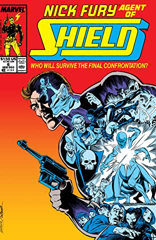 Nick Fury, Agent of S.H.I.E.L.D. (1989-1992) No.6