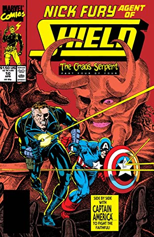 Nick Fury, Agent of S.H.I.E.L.D. (1989-1992) No.10