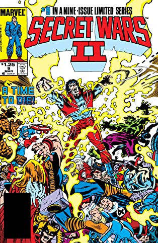 Secret Wars II (1985) #9 (of 9)