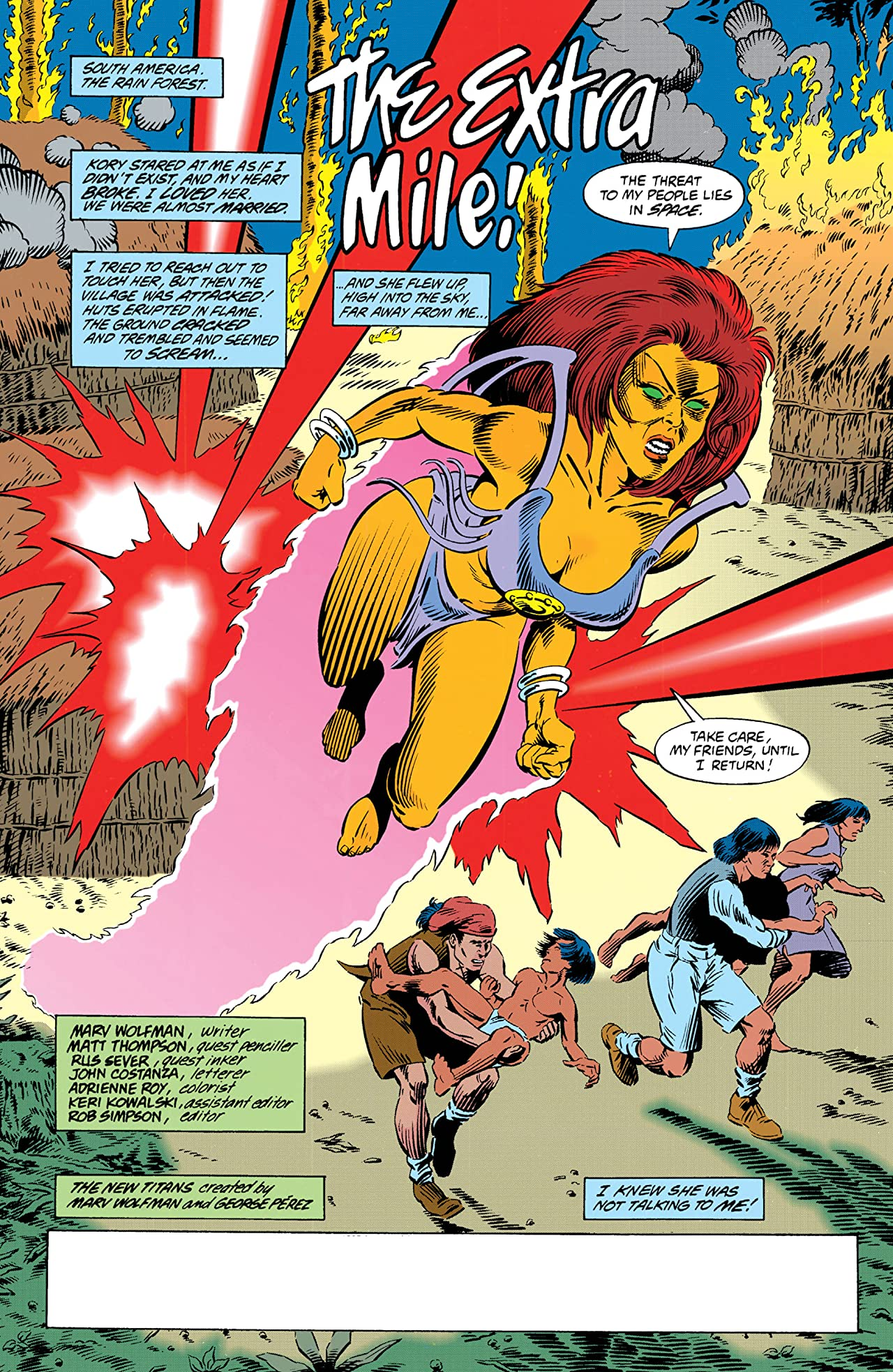 The New Titans (1984-1996) #111