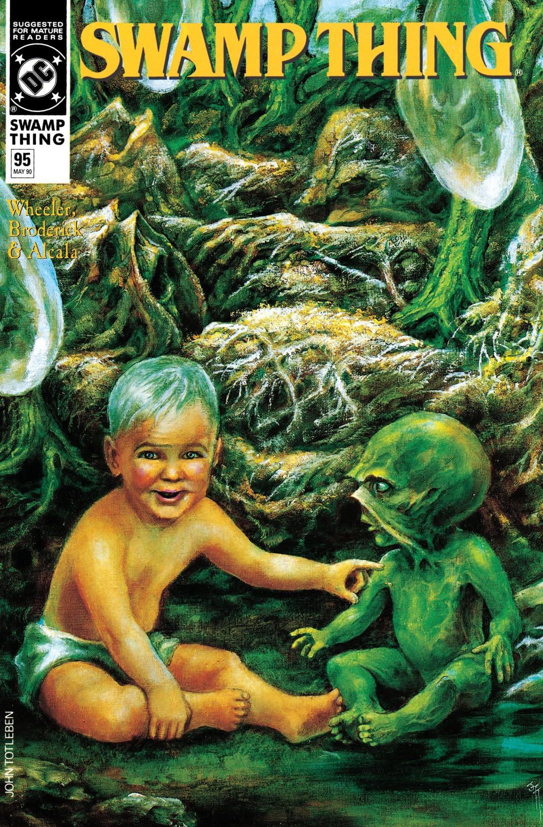 Swamp Thing (1982-1996) #95