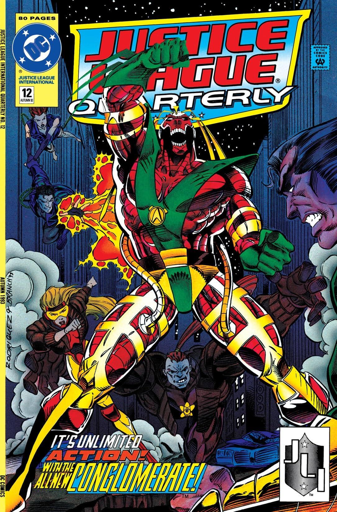 Justice League Quarterly (1990-1994) #12