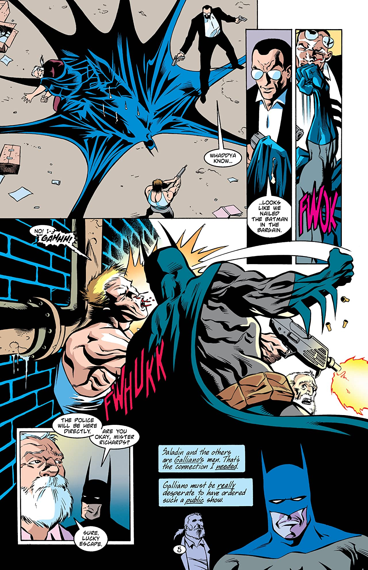 Batman: Legends of the Dark Knight #97