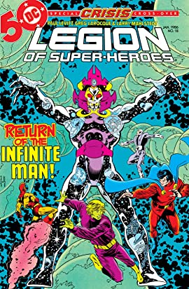 Legion of Super-Heroes (1984-1989) #18