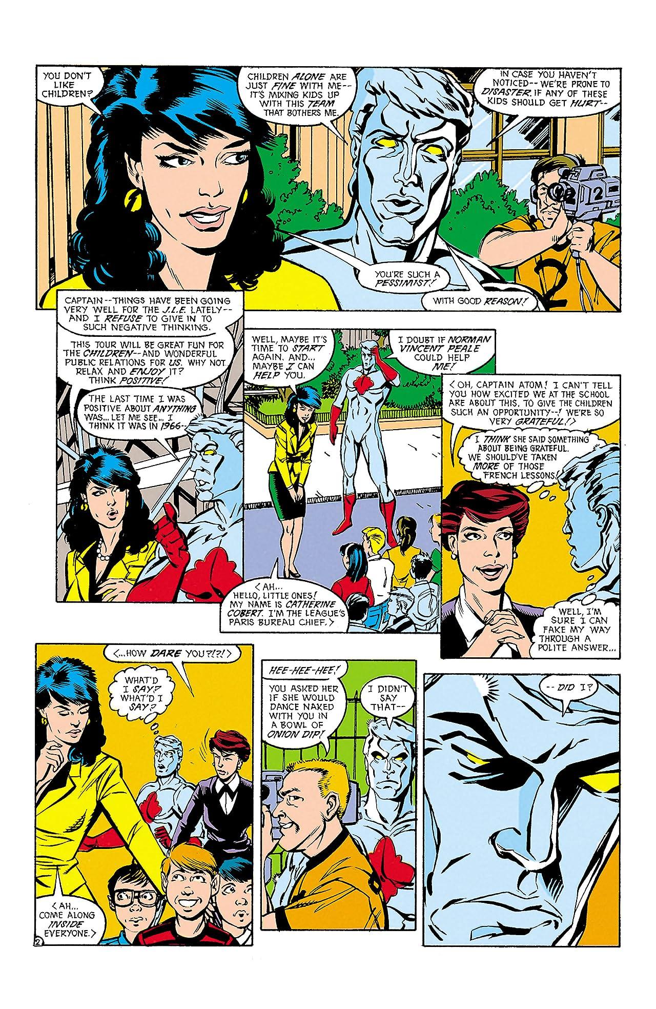 Justice League Europe (1989-1993) #13
