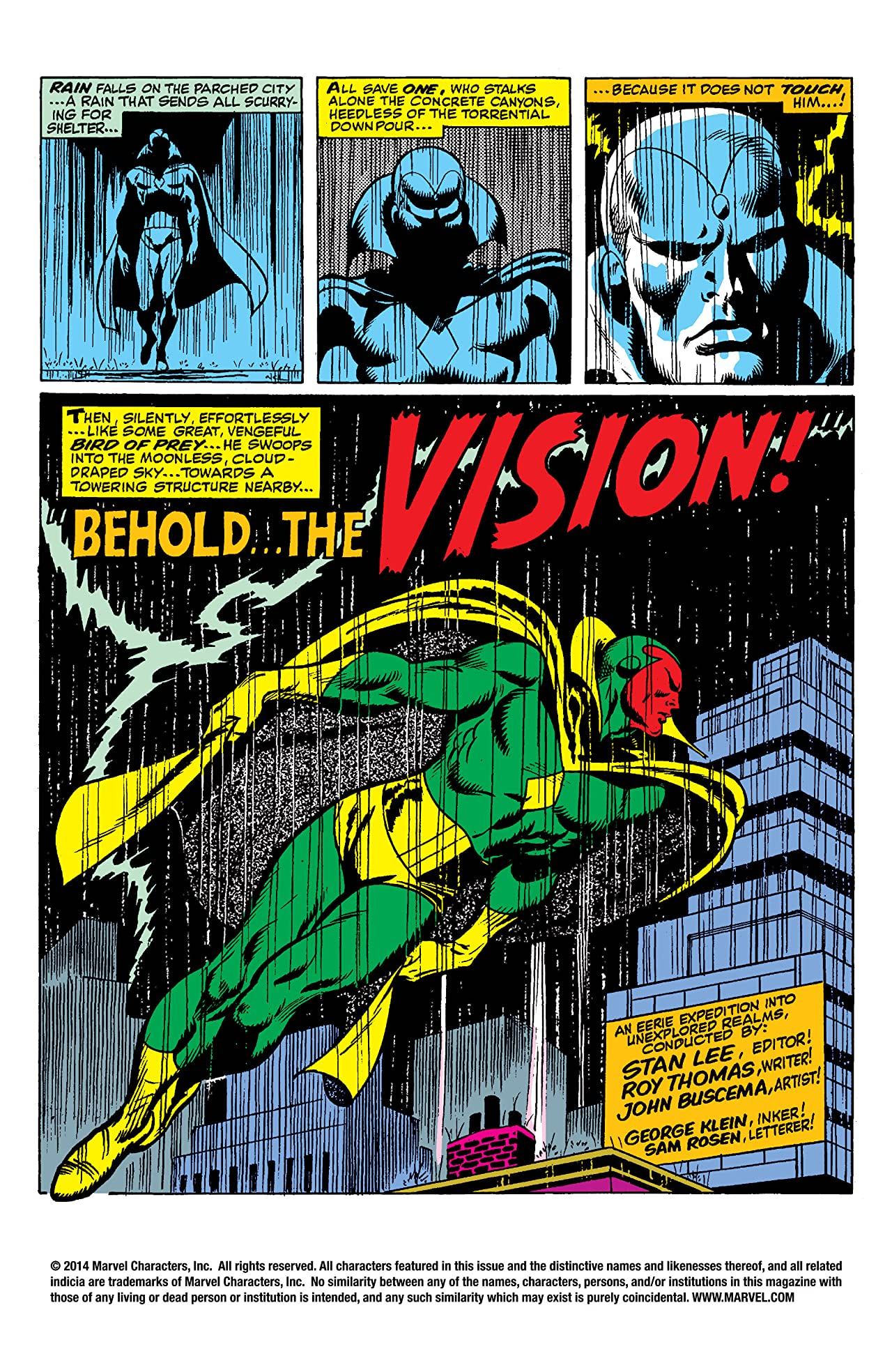 Avengers Epic Collection: Behold... The Vision