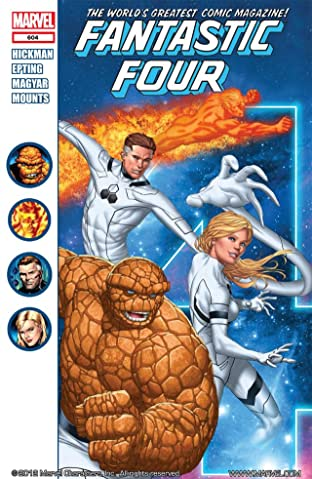 Fantastic Four (1998-2012) No.604