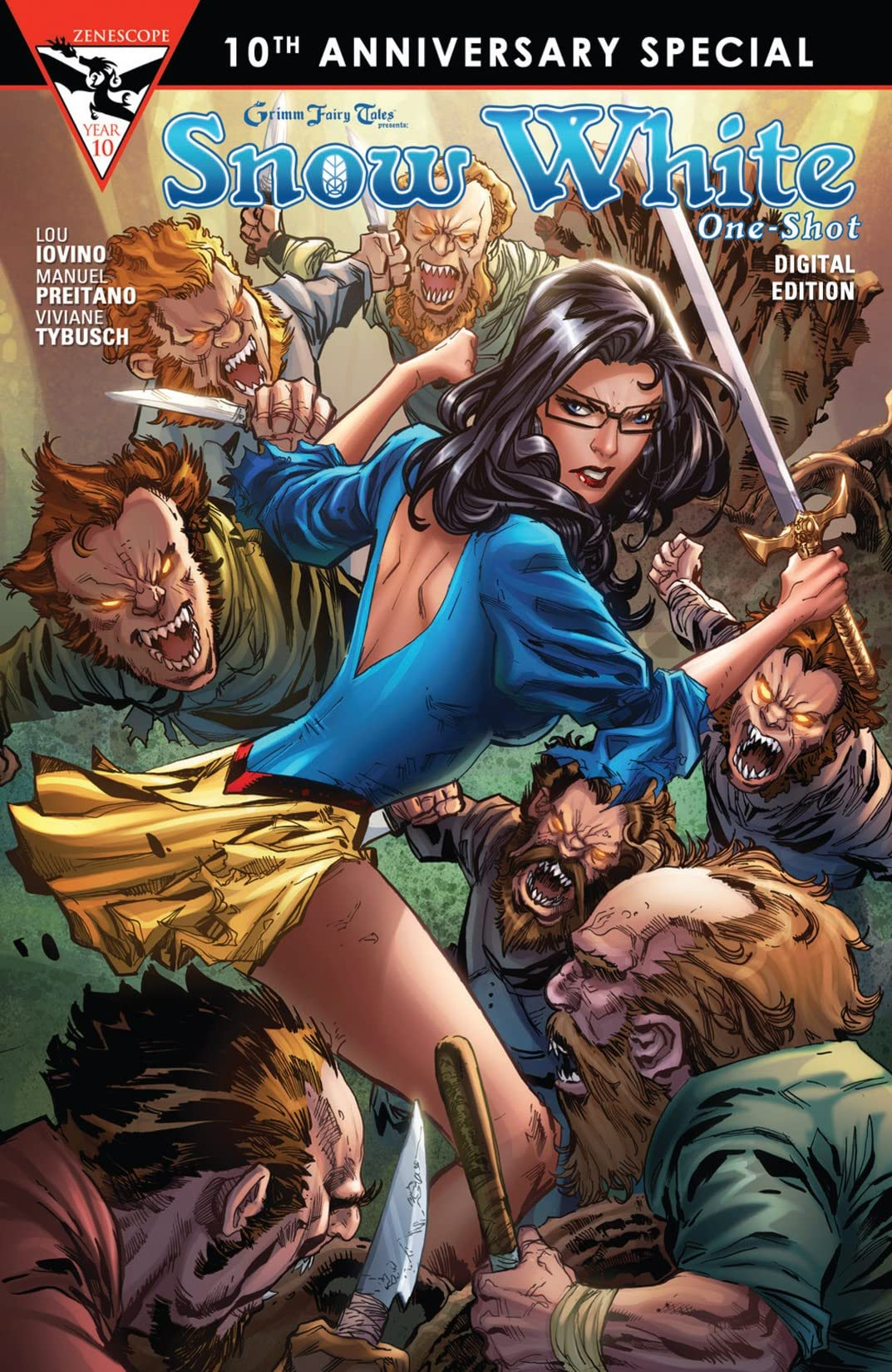 Grimm Fairy Tales 10th Anniversary One Shot - Snow White