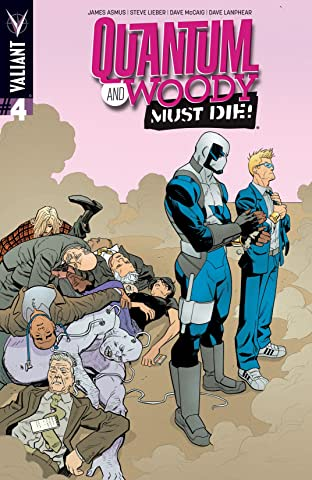 Quantum and Woody Must Die! #4 (of 4): Digital Exclusives Edition