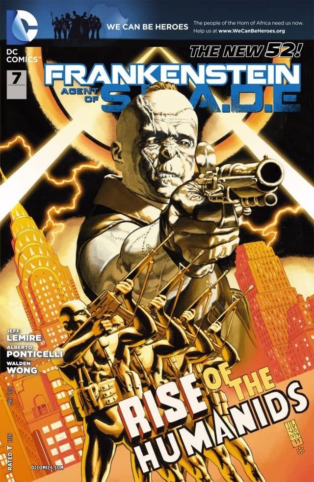 Frankenstein, Agent of SHADE (2011-2013) #7