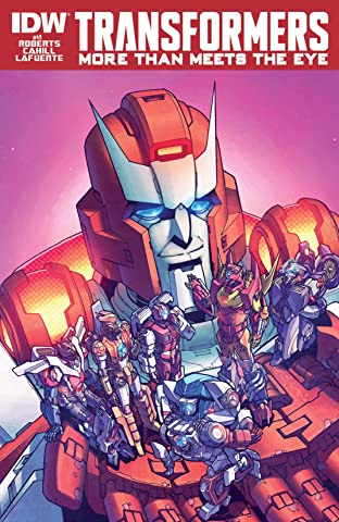 Transformers: More Than Meets the Eye (2011-) #40