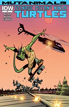 Teenage Mutant Ninja Turtles: Mutanimals #3 (of 4)