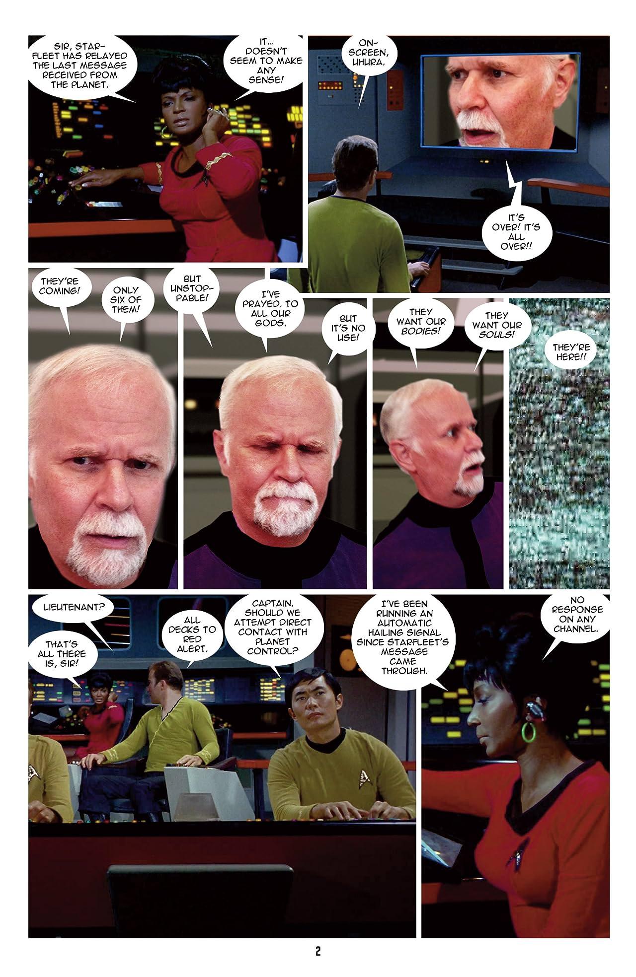 Star Trek: New Visions #6: Resistance