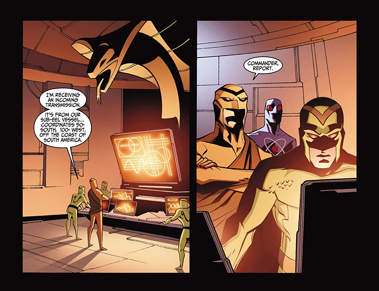 Justice League Beyond (2012-2013) #4