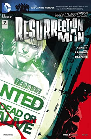 Resurrection Man (2011-2012) #7